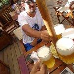 Cerveza con amigos