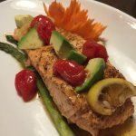 Thai salmon - new dish