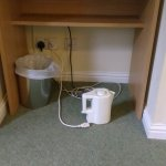 kettle can only be used on the floor