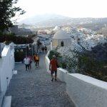 Trail escarpé qui parcours le long de la côte et traverse les 3 villages