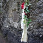 Plaque and memorial