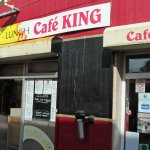 """""""Frontage"""" of Cafe KIng."""
