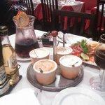 Sangria and sauces