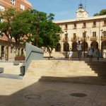 Our snapshots of the beautiful city of Denia's waterfront and the hotel courtyard where you take