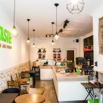 Taste - Cafe, Deli, Pastry.  Located a stone's throw away from the famed Holstentor