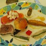 Antipasto misto di pesce