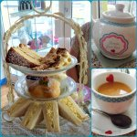 Lovely cream tea, cake and sandwiches. Would highly recommend.