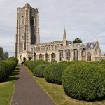 Sept 2016 St Peter and St Paul's Church Lavenham