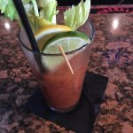 I come here for one reason only the bloodies! They come with a crisp piece of bacon and are amaz