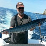 Mr Gilbert goes home with a wahoo