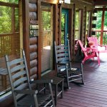 Enjoy your vacation on our relaxing porches!