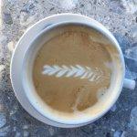 """Brandon's """"Wheat City"""" latte!"""
