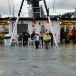 AMHS MV Le Conte top deck solarium