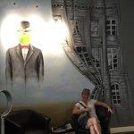 Hommage à Magritte Foto