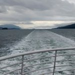 Travelling from Juneau to Haines, Alaska on the AMHS MV LeConte