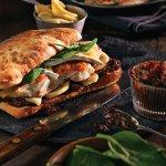 Fig + Brie Chicken Sandwich