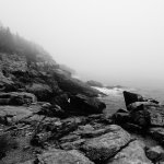 More of the coast and fog