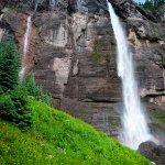 Bridal Veil Falls at the bottom