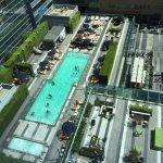 Rooftop Pool & LA Live