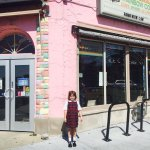 Went to The Original Rainbow Cone ice cream parlor with my 7 y/o. We had one baby scoop of straw