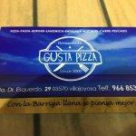 Foto de Gusta pizza