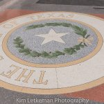 Texas State Capitol floor under the dome. Gorgeous.