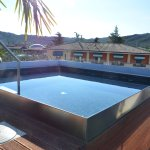 Whirlpool Bath on Roof Terrace