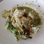 Chicken artichoke in pesto sauce