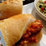 Chicken Parm Sandwich - a little small size