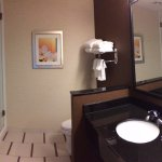 Panorama of bathroom.