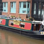 narrow boat cafe on the cut