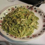 Smoked Chicken Pesto