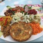 Gland and Swiss medium salad