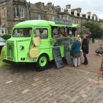 The Little Green Van - Coffee and Ice Cream