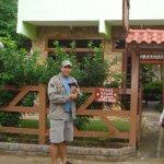 Ingreso a la Posada, Velho Guerreiro en Vila do Abraão - Ilha Grande - Angra dos Reis - RJ: