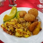 Real Jamaican breakfast!
