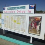 Drive-up menu