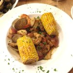 Daily special - North Pacific Sablefish and the Low Country Boil.  Both were superb!