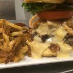 Gouda Bock Burger Made with Wild Acre Billy Jenkins Bock. Yup!