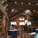 Dining area at Latchstring Restaurant