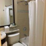 Teeny, tiny bathroom