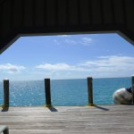 Changing rooms, equipment rental dock, Fort Jefferson