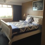 Seacrest Motel Room bed