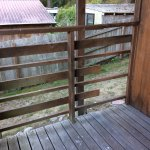 balcony rail