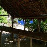 Lunch hut at a Moso beach