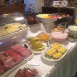 Breakfast Buffet - look at all the fresh fruit!!!