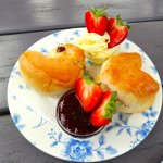 Heavenly cornish cream tea