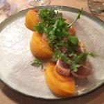 Thon blanc en tataki et tomate