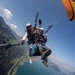Paragliding Luzern Foto