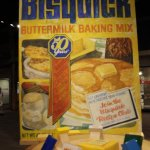 Oversized Bisquick box!